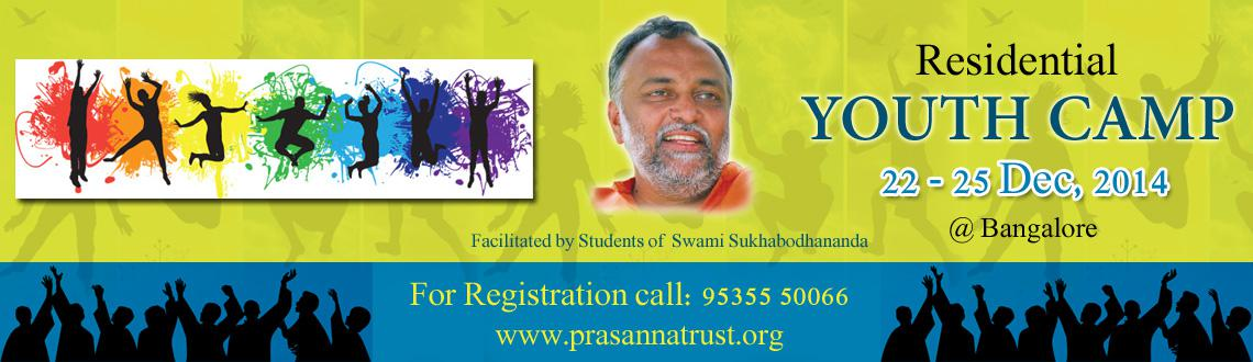Residential Youth Camp (12-16 Yrs of age for Boys  Girls) @ Bangalore