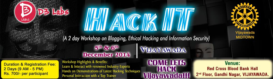 HackIT - A Workshop on Ethical Hacking and Online Earning from Internet