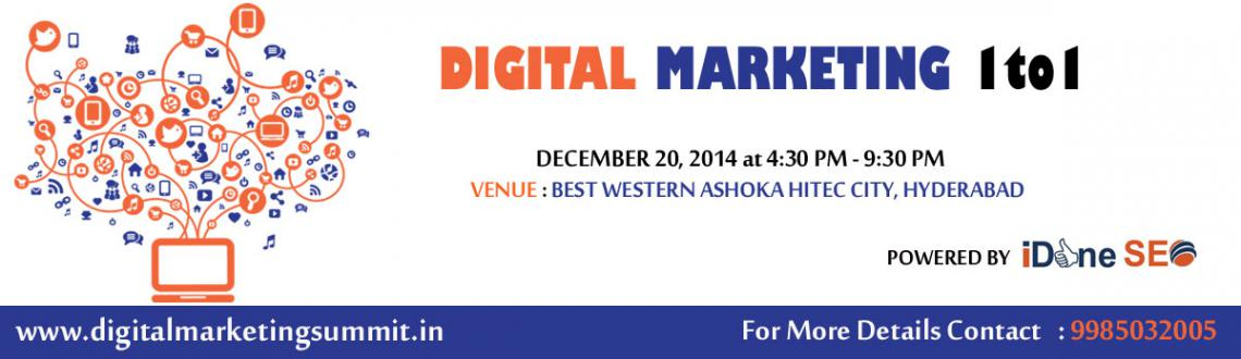 Book Online Tickets for Digital Marketing 1-to-1, Hyderabad. 