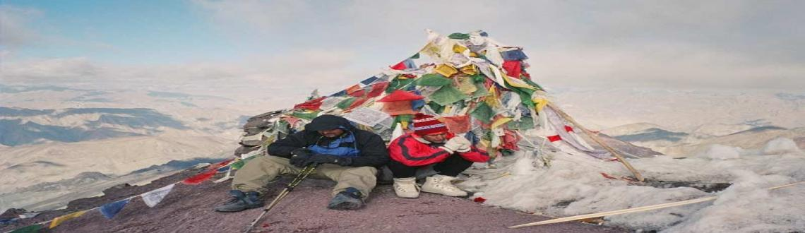Adventurous Trekking Tour to Stok kangri, Ladakh