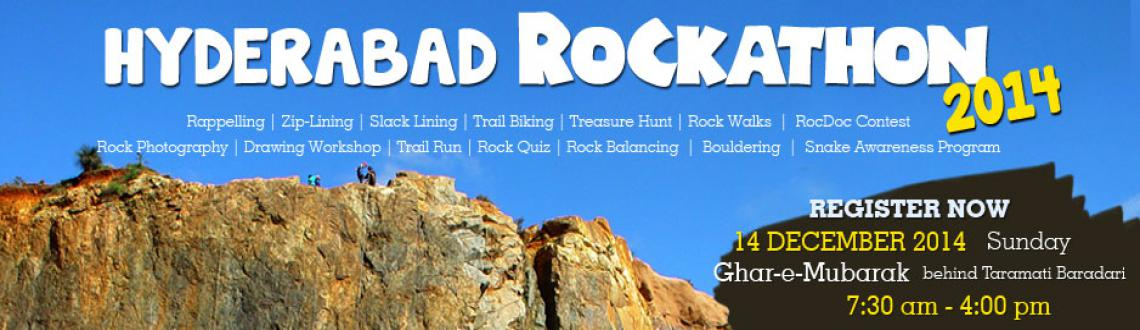 Rockathon highlights the need to preserve of our stunning Deccan Rockscapes and to promote adventure sports