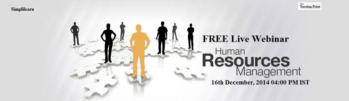 Free Live Human Resource Management Webinar Hyderabad