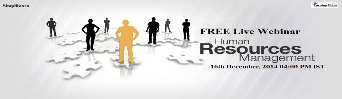 Free Live Human Resource Management Webinar Kolkata