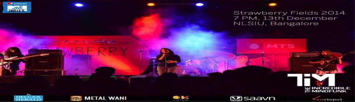 Book Online Tickets for The Incredible Mindfunk, Bengaluru. The Incredible Mindfunk promises to enthral you with some of the best psychedelic/funk music you can find in the Indian music scene.Watch them at the 18th edition of one of India\\\'s biggest rock fests, Strawberry Fields. Excellent music, an op