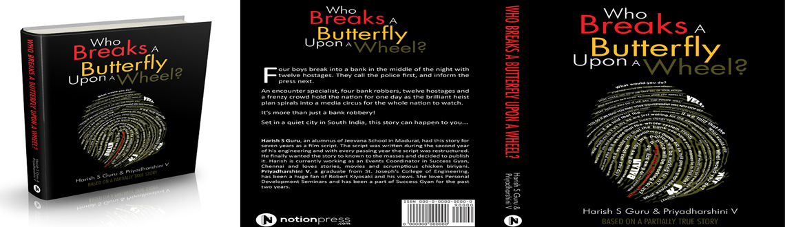 Book Online Tickets for Who Breaks A Butterfly Upon A Wheel, Chennai. Who Breaks A Butterfly Upon A Wheel