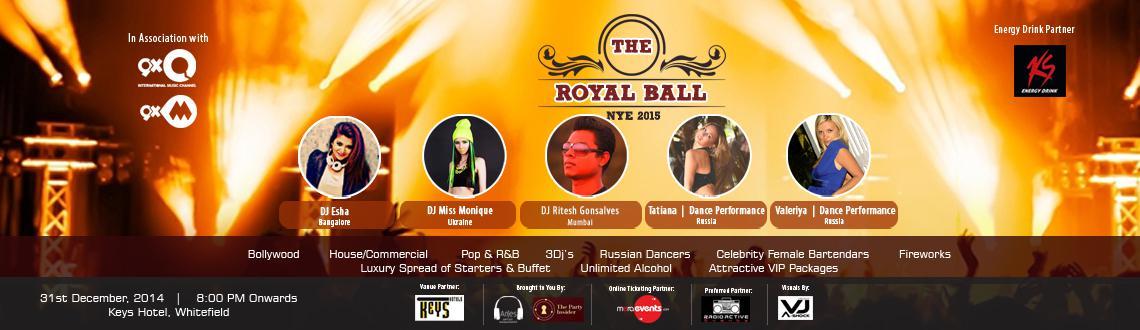 The Royal Ball NYE - 2015 @ Keys Hotel