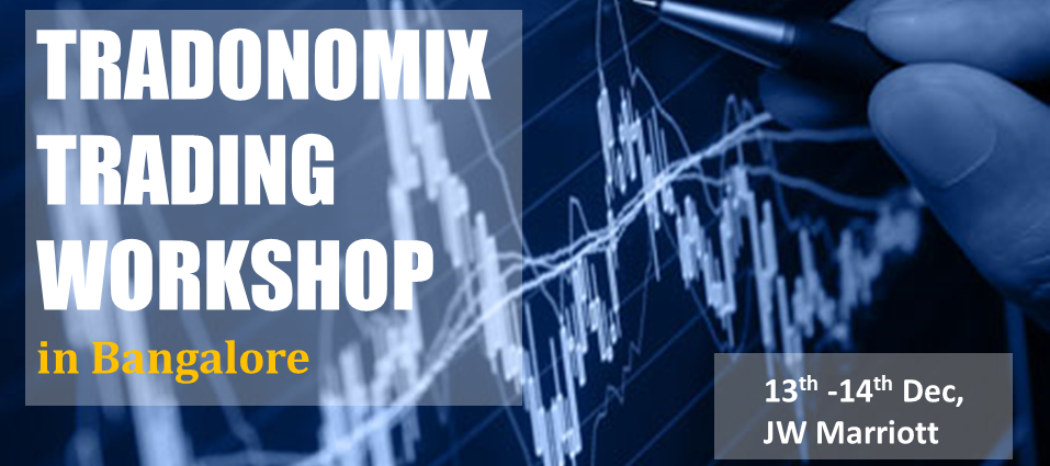 Book Online Tickets for Tradonomix Trading Workshop, Bengaluru. Join us for a rigorous 2 day classroom workshop, learn to win over your emotions and make money by acing the price-action based trading methodologies. This 2 day course provides attendees a unique opportunity to acquire both practical and theoretical