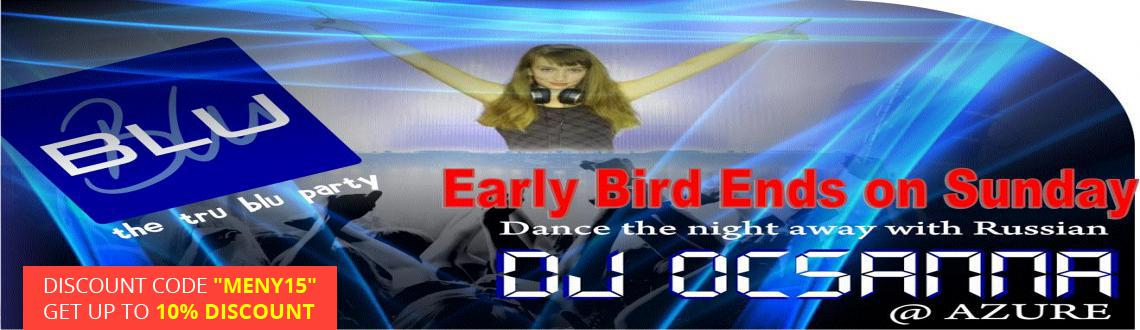 ew Year Event 2015 in Hyderabad, Book Passes/Tickets online for Dance the Night away - Russian DJ Ocsanna. Get Event, Live Show and Parties Details.