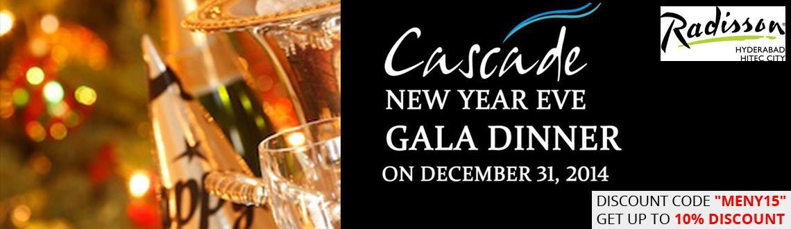 Cascade New Year EVE 2015