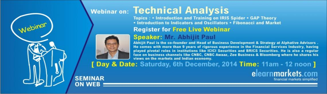 Free Webinar on Technical Analysis by Mr. Abhijit paul