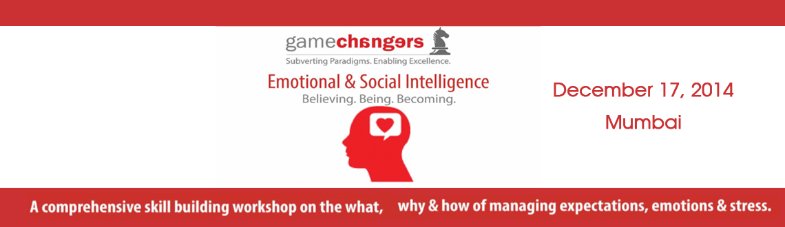 Book Online Tickets for Emotional  Social Intelligence, Mumbai.