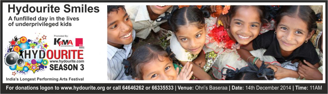 Book Online Tickets for Hydourite Smiles, Hyderabad. HYDOURITE SMILES