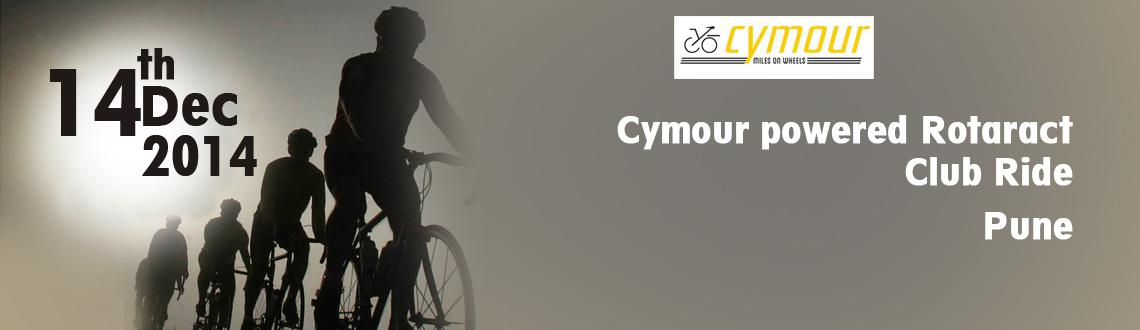 Cymour powered Rotaract Club Ride