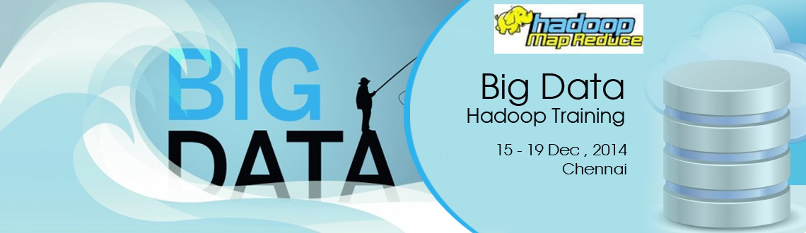 Book Online Tickets for Big Data Training in chennai, Chennai. Apache Hadoop! A Solution for Big Data!Hadoop is an open source software framework that supports data-intensive distributed applications. Hadoop is licensed under the Apache v2 license. It is therefore generally known as Apache Hadoop. Hadoop has bee