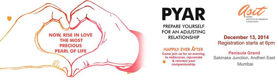 PYAR - Prepare Yourself for an Adjusting Relationship
