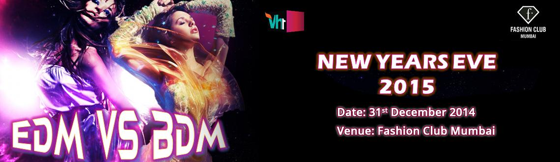 New Years Eve 2015  EDM v/s BDM @ F-Bar