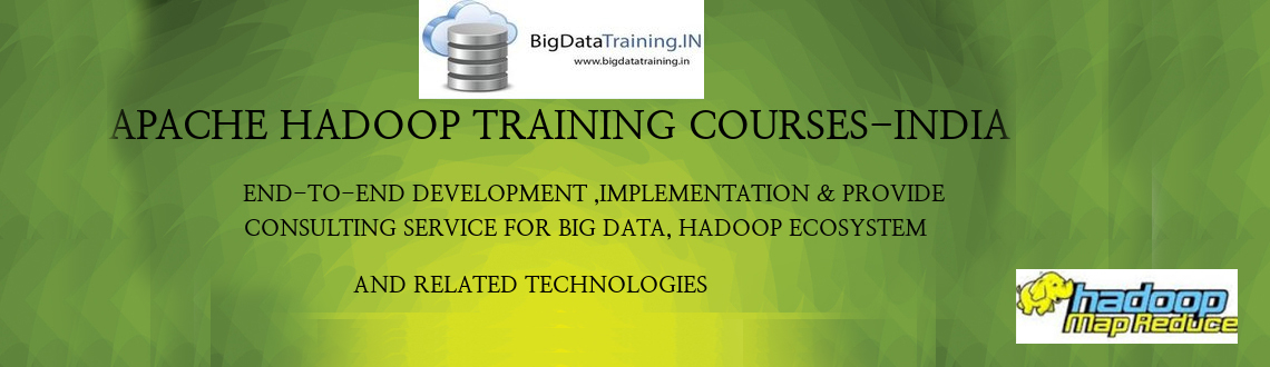 Book Online Tickets for Big Data and Certification Training in C, Chennai. Opportunities for Hadoopers are infinite - from a Hadoop Developer, to a Hadoop Tester or a Hadoop Architect, and so on. If cracking and managing BIG Data is your passion in life, then think no more and Join BigDataTraining.IN�s Hadoop course an