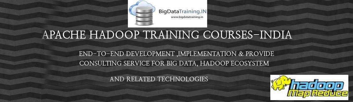 Book Online Tickets for Apache Hadoop Training in Chennai, Chennai. BigDataTraining.IN is conducting 5 days Big-Data and Hadoop Architect Level training inCHENNAI, delivered by highly experienced trainers. BigDataTraining.IN is a leading Global Talent Development Corporation, building skilled manpower pool for global