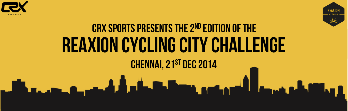 Reaxion Cycling City Challenge - 21st December
