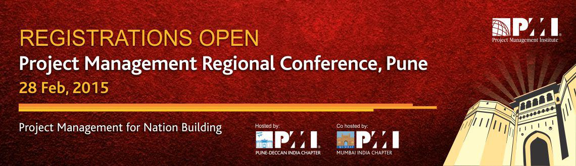 PMI Pune-Deccan India Chapter and PMI Mumbai Chapter will host first PMI India Project Management Regional Conference in Pune.