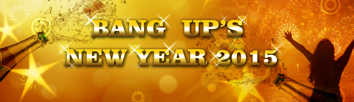Book Online Tickets for BANG UPS 2015, Chennai. Step in to celebrate BANG UP'S NEW YEAR EVE 2015 @ Hotel Raj Palace Sundar in Adyar at Chennai that is been organized by 93 Holidays. Celebrate this New Year's Eve for memorable last party of the year with safe and fun within the city.