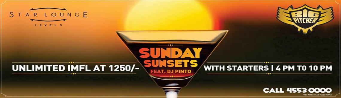 Book Online Tickets for Sunday Sunsets, Bengaluru. Groove to Commercial, house and EDM with DJ Pinto this Sunday at Big Pitcher. Enjoy the evening with unlimited IMFL & Starters at just Rs 1250/-