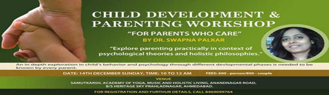 CHILD DEVELOPMENT  PARENTING WORKSHOP