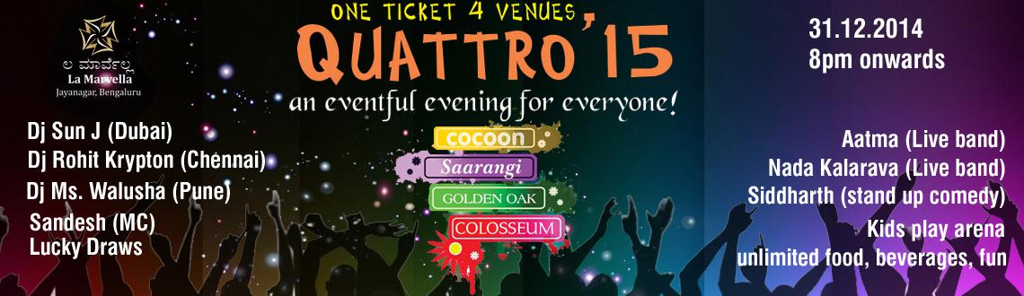 QUATTRO 2015 New Year Event