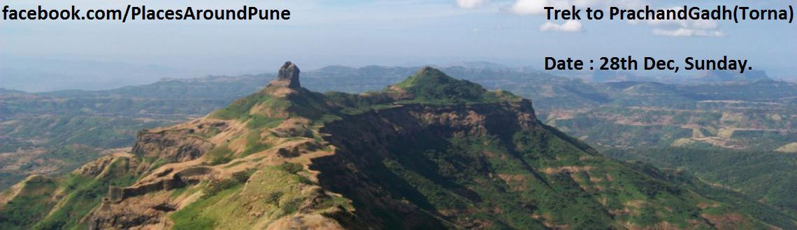 Book Online Tickets for Trek to PrachandGadh, Pune. Torna is one of the most favoured trek around Pune. Being the tallest mountain of Pune district, this trek becomes challenging one. Those who want to shift towards slightly tough treks, Torna fort trek is ideal. From historical point of view thi