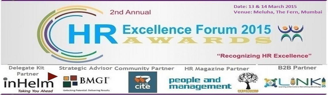2nd Annual HR Excellence Forum and Awards 2015
