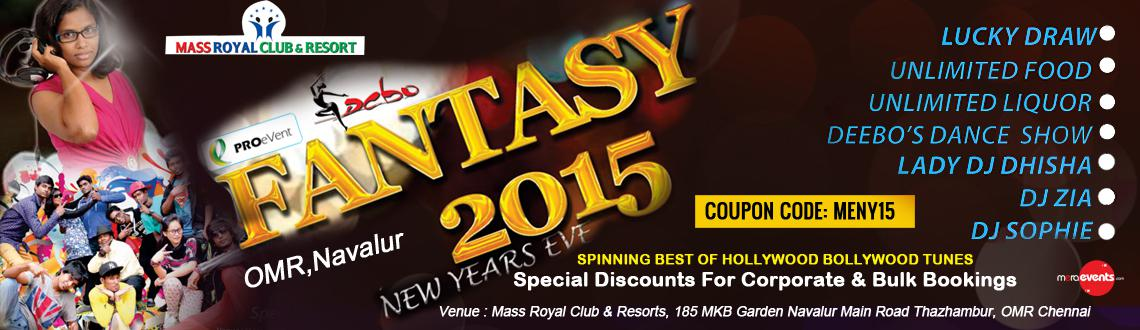 Book Online Tickets for Fantasy - 2015, Chennai. FANTASY 2015