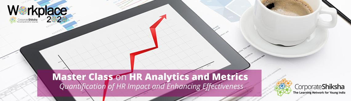 Workplace2020 Master Class on HR Analytics and Metrics