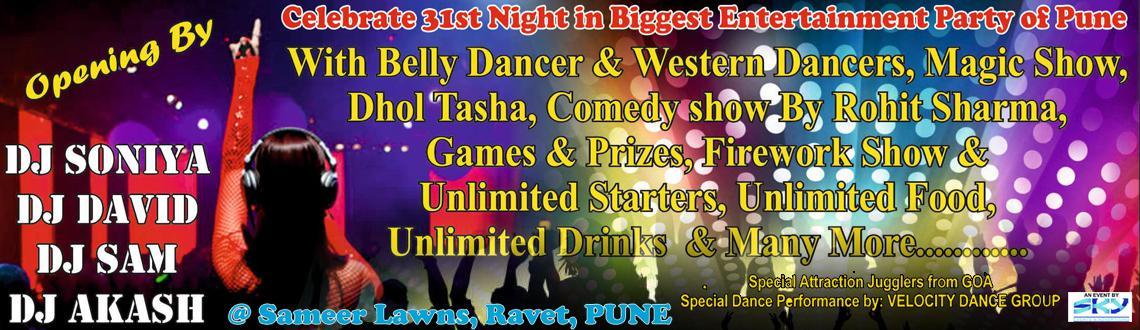 Sensational Night 31st party @ Ravet, Pune