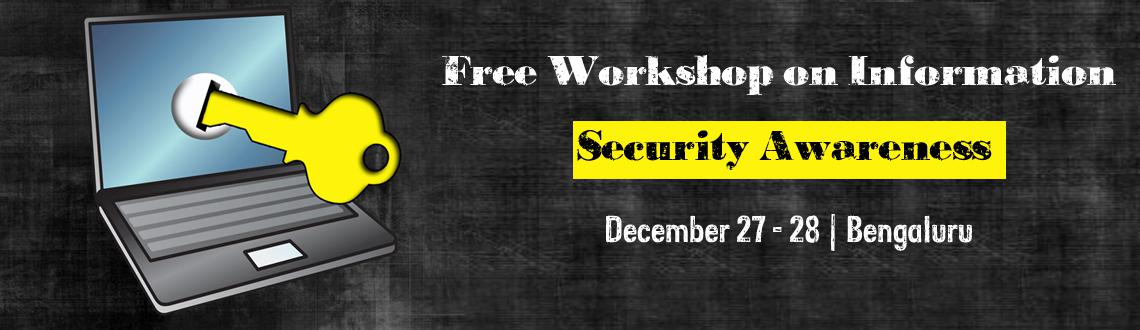 Free Workshop on Information Security Awareness Copy