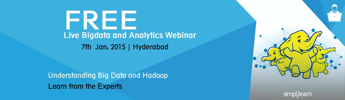 Free Live Webinar on Hadoop A Solution For Big Data in Hyderabad