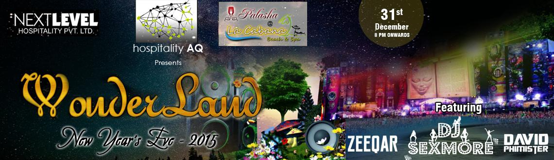 Book Online Tickets for Wonderland NewYears Eve 2015 in Goa, Ashwen Bea. Start planning your best-ever New Year's Eve celebration in Goa. Because Next Level Hospitality Pvt. Ltd. and Hospitality AQ are organizing one of the biggest and stunning events at La Cabana Beach Spa i.e., Wonderland New Years Eve 2015 in Goa