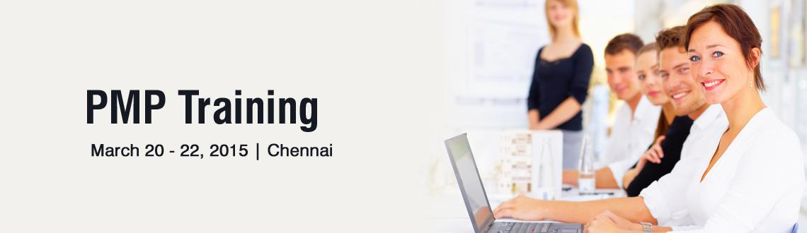 PMP Training in Chennai - March Fri 20, Sat 21, Sun 22