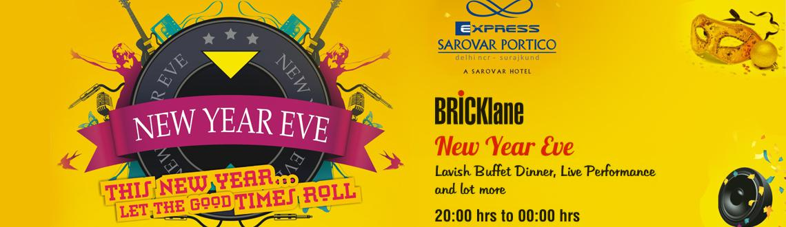 New Year Gala Dinner at Bricklane