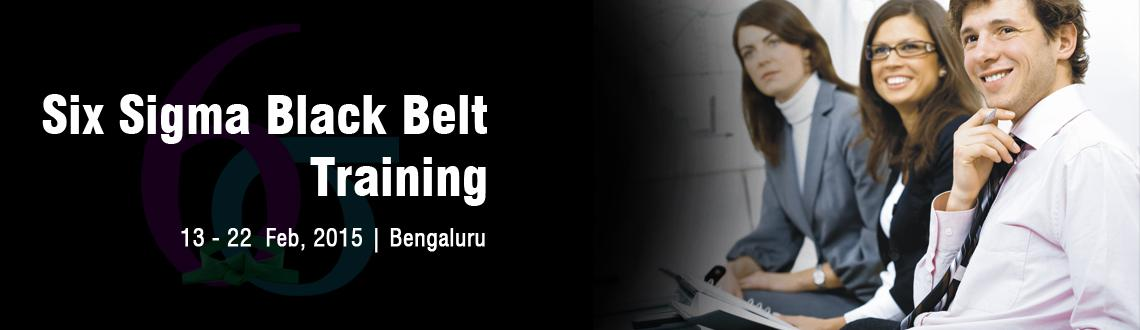 Six Sigma Black Belt Training in Bangalore - February Fri 13, Sat 14, Sun 15, Sat 21, Sun 22