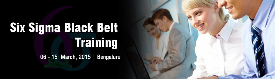 Book Online Tickets for Six Sigma Black Belt Training in Bangalo, Bengaluru. Overview