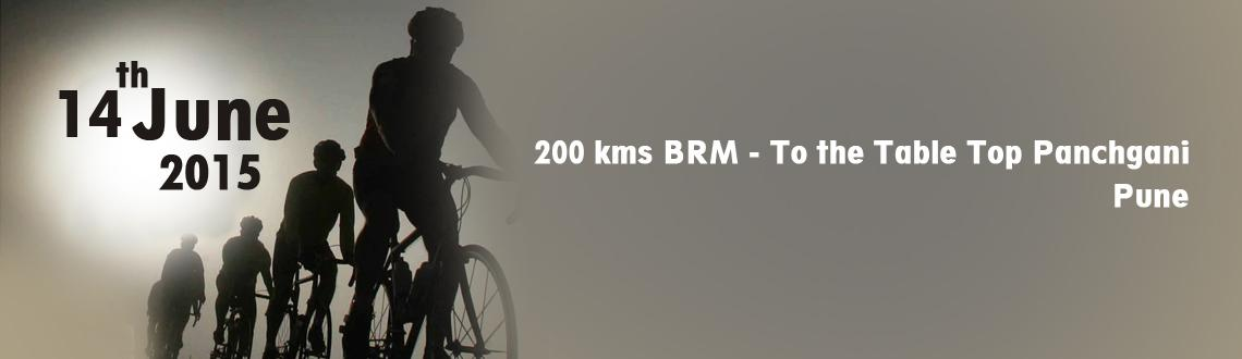 200 kms BRM - To the Table Top Panchgani