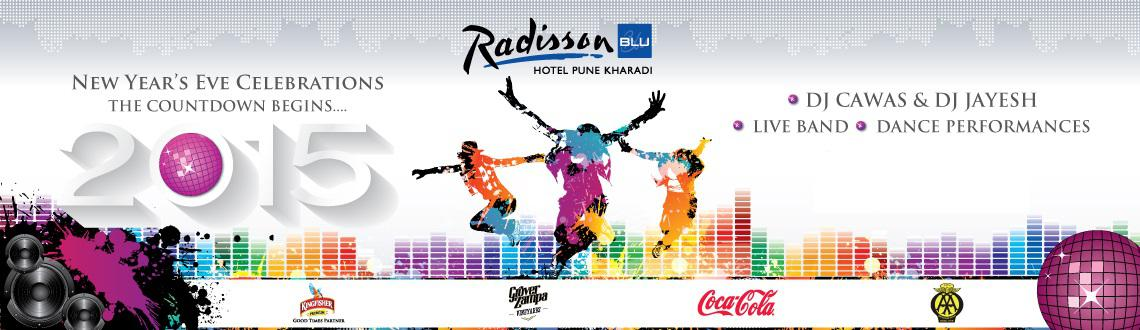 Countdown Begins for the new year 2015 @ Radisson Blu Pune