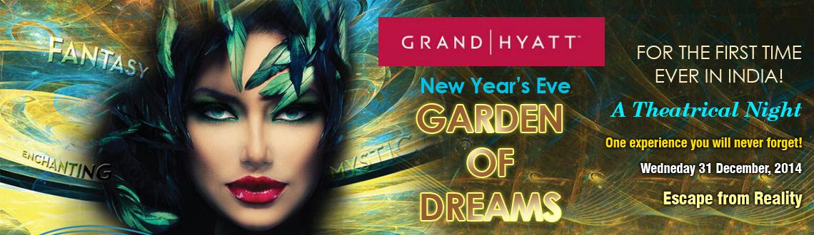 New Years Eve Garden of Dreams at Grand Hyatt Goa