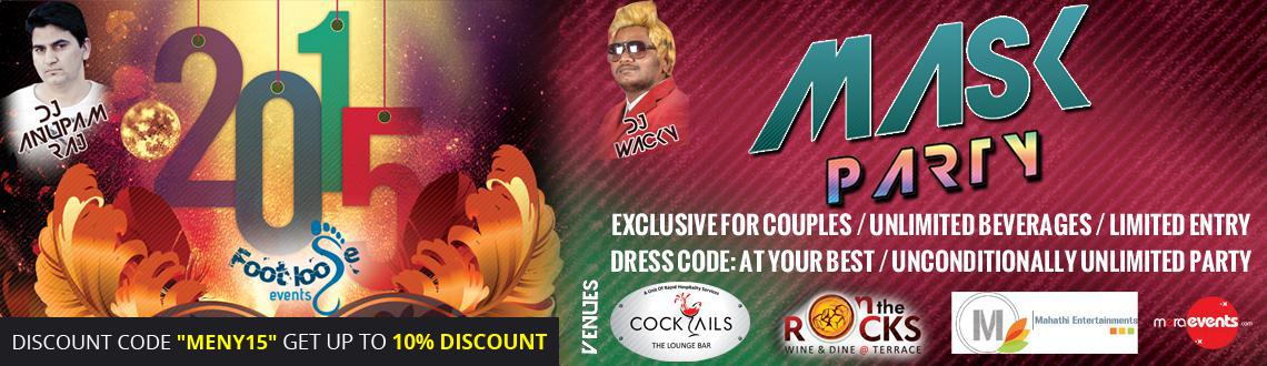 Book Online Tickets for MASK PARTY AT COCKTAILS CLUB, Hyderabad. * Attractive eye mask\\'s will be provided for free before entry into the club.