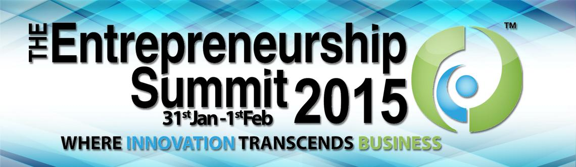 The Entrepreneurship Summit 2015