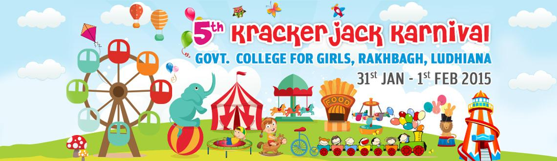 5th Krackerjack Karnival--  January Edition Biggest kids festival in India