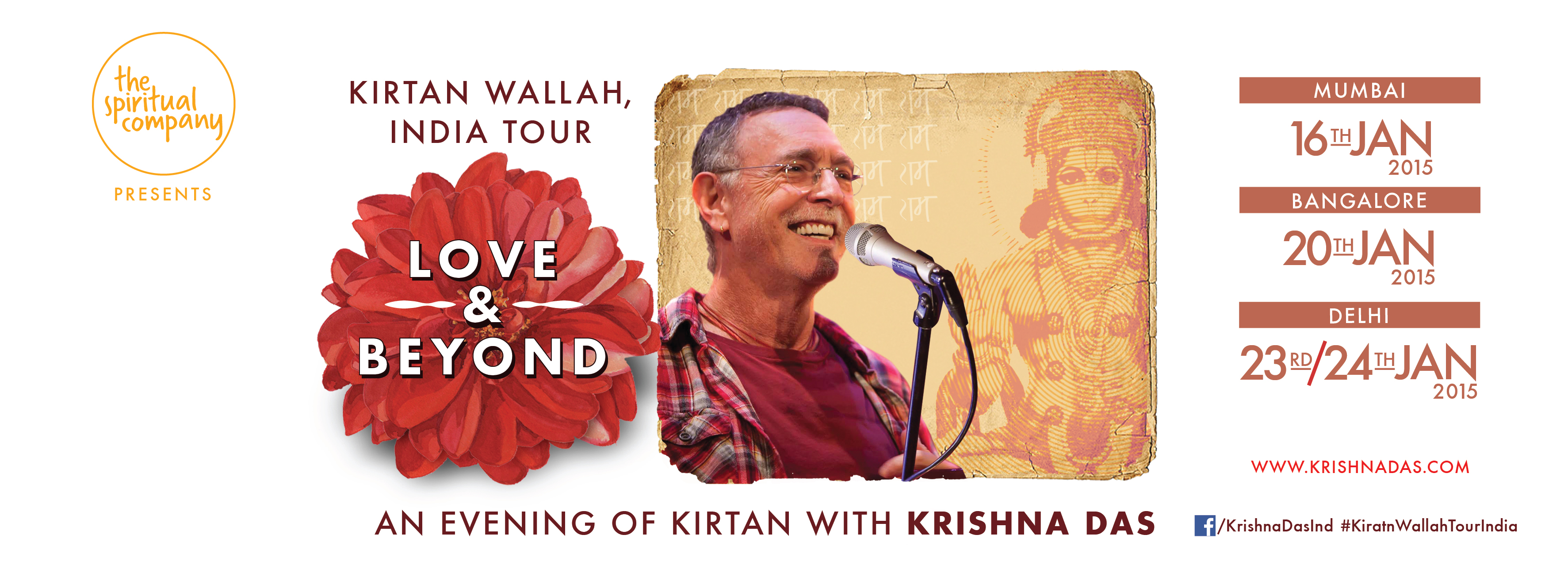 Book Online Tickets for Kirtan Wallah India Tour , Bengaluru. About the artist- Layering traditional Hindu kirtan with instantly accessible melodies and modern instrumentation, Krishna Das has been called yoga\\\'s \\\'\\\'rock star\\\'\\\'. With a remarkably soulful voice that touches the deepest chord in eve