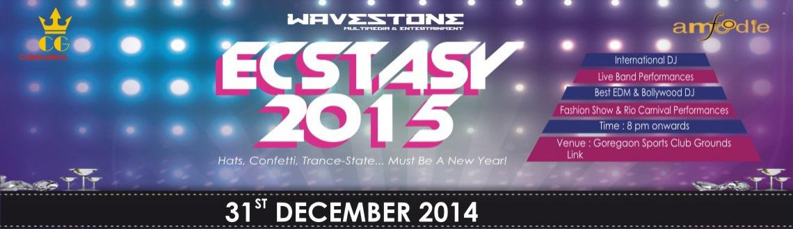 Book Online Tickets for Ecstasy 2015 - NYE 2015 at Goregaon Spor, Mumbai. Ecstasy 2015 - NYE 2015 at Goregaon Sports Club