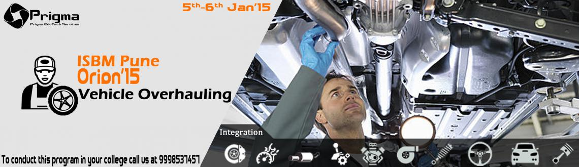 Vehicle Overhauling Workshop at ISBM Pune