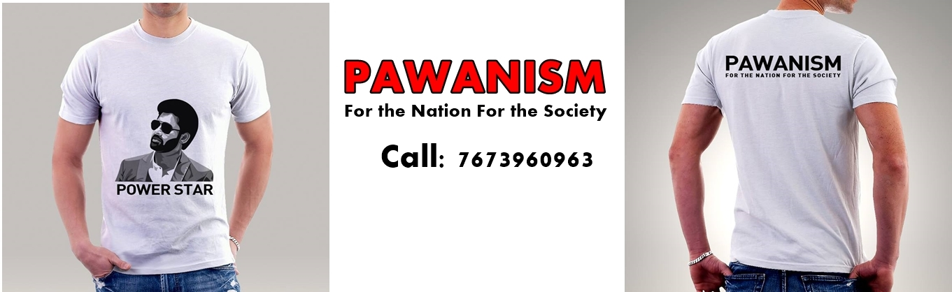 Book Online Tickets for Pawanism Tshirt , Hyderabad.  